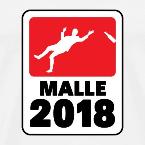 Malle 2018 Mallorca Party Bier Bundesliga Logo - Männer Premium T-Shirt