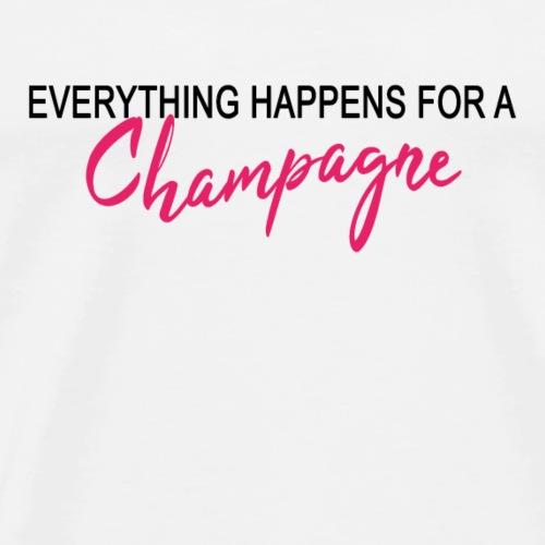 Champagne - Männer Premium T-Shirt