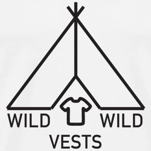 Wild Wild Vests Logo Tee - Men's Premium T-Shirt