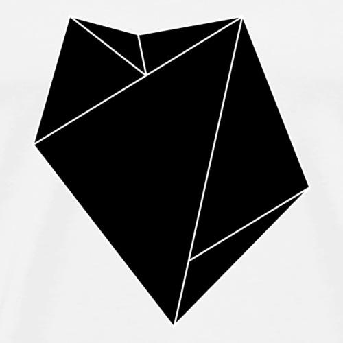 geometrischer diamant - Männer Premium T-Shirt