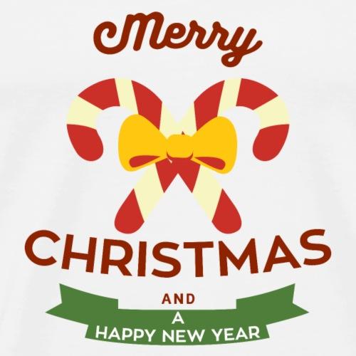Frohe Weihnachten und frohes neues Jahr - Men's Premium T-Shirt