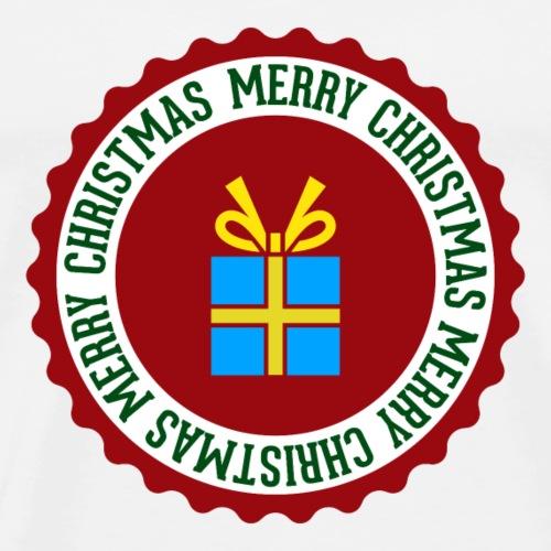 Frohe Weihnachten Geschenk - Men's Premium T-Shirt