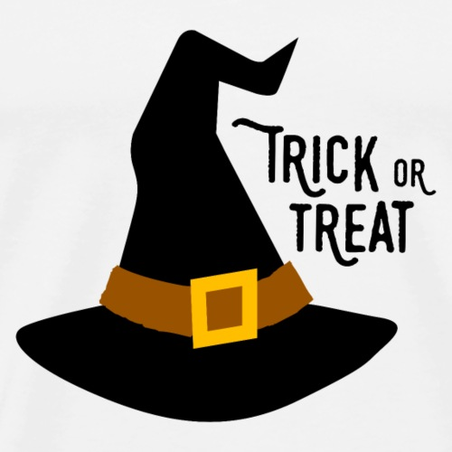 Trick or Treat witch hat - Men's Premium T-Shirt