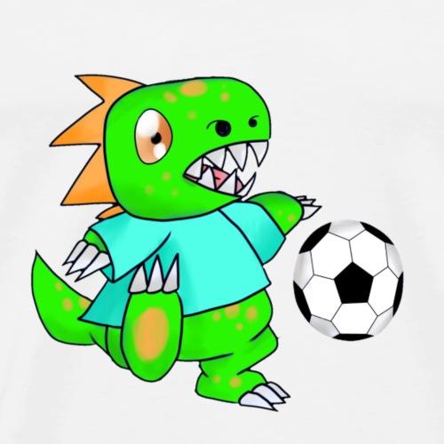 FußballSaurier - Männer Premium T-Shirt