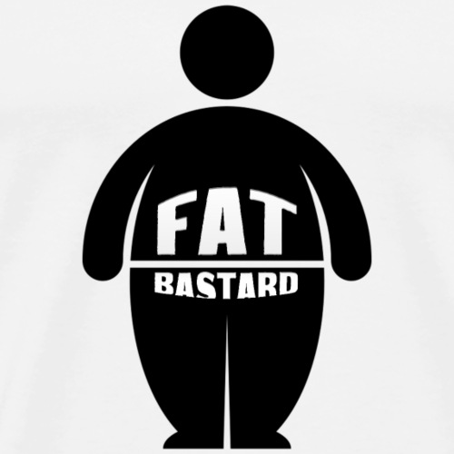 Fat Bastards: Version 2 - Männer Premium T-Shirt