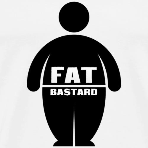 Fat Bastards: Version 1 - Männer Premium T-Shirt
