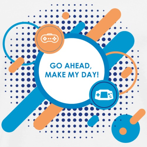 Go ahead make my day - Männer Premium T-Shirt