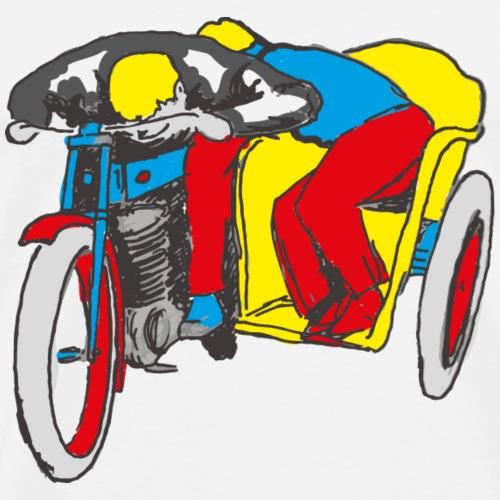 POP UP SIDE CAR - T-shirt Premium Homme