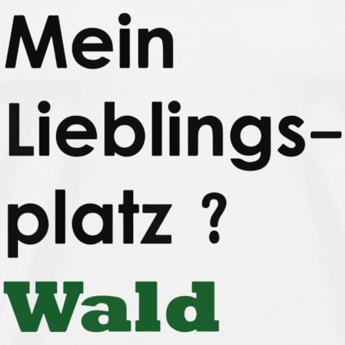 Wald - Männer Premium T-Shirt