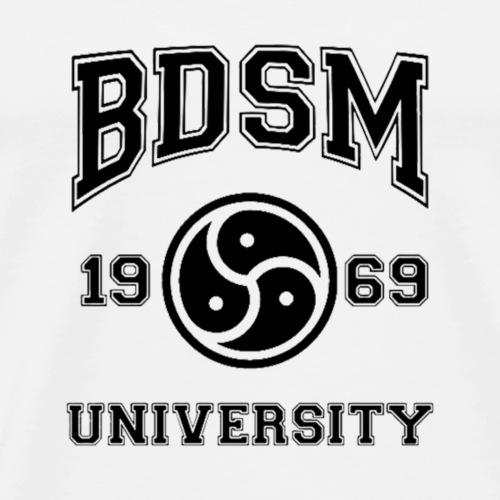 bdsm university - Camiseta premium hombre