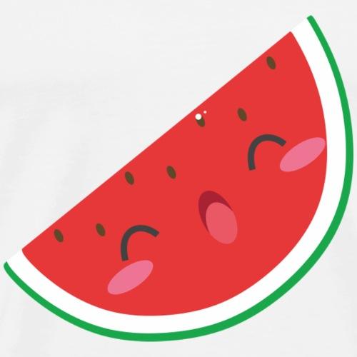 Lächelnde Wassermelone - Männer Premium T-Shirt
