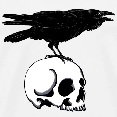 The Raven - Men's Premium T-Shirt