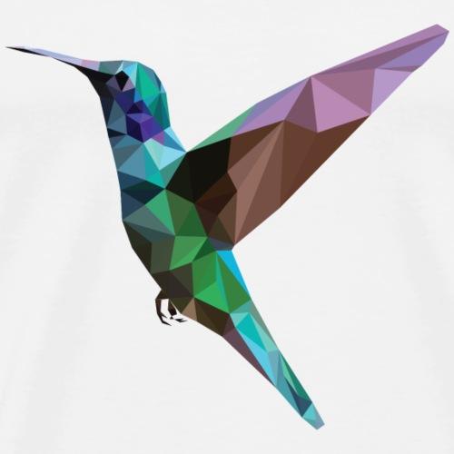 Colorful Hummingbird - Mannen Premium T-shirt