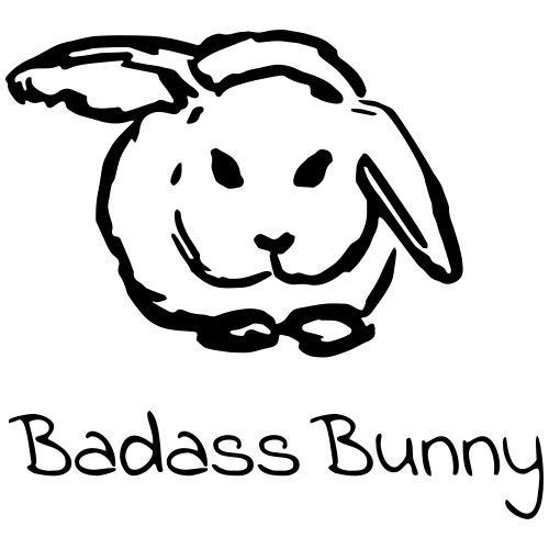 Badass Bunny - Männer Premium T-Shirt