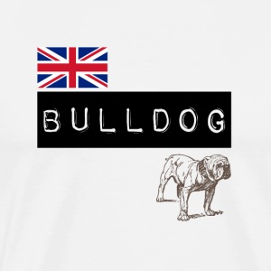British Bulldog - Men's Premium T-Shirt