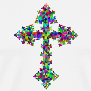 Colourful cross - Men's Premium T-Shirt