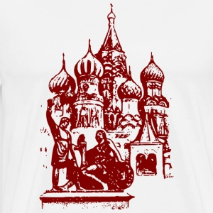 Russian church - Men's Premium T-Shirt