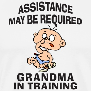 Grandma In Training - Men's Premium T-Shirt