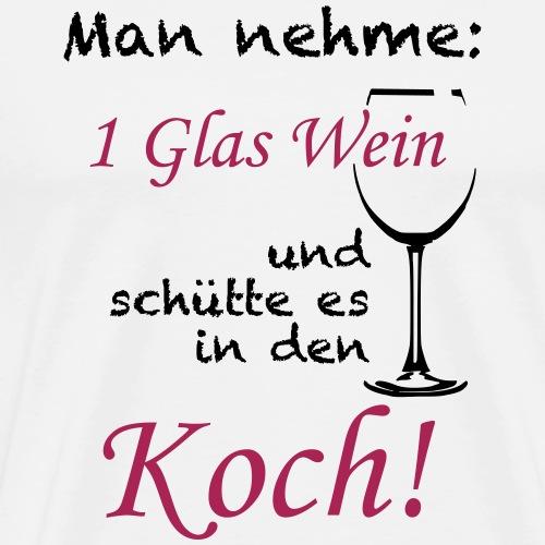 Koch2 - Männer Premium T-Shirt