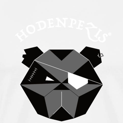 HODENPEZIS Origin Team White B&W - Männer Premium T-Shirt