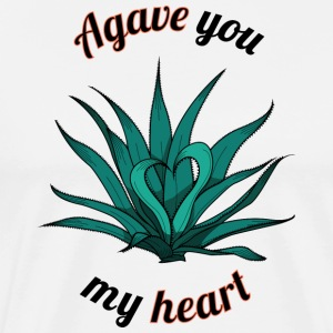 agave you my heart - Men's Premium T-Shirt