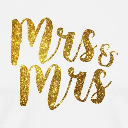 Mrs & Mrs . Hen / Bachelorette / Wedding Day - Men's Premium T-Shirt