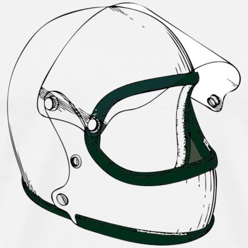 Motorsport - Helm 70ern - Männer Premium T-Shirt