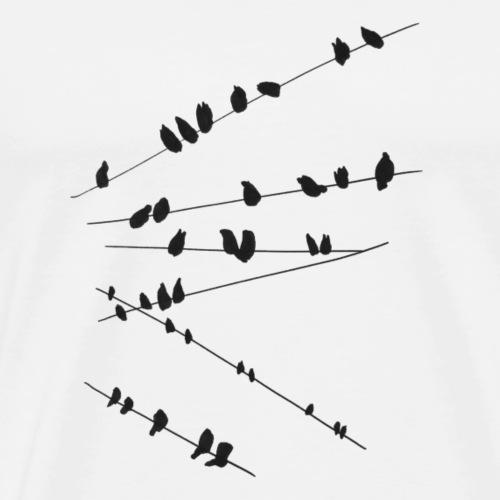 Vogel Design - Männer Premium T-Shirt