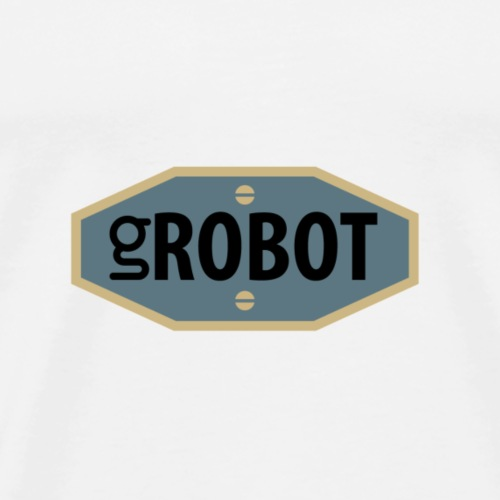 gRobot Logo - Maglietta Premium da uomo