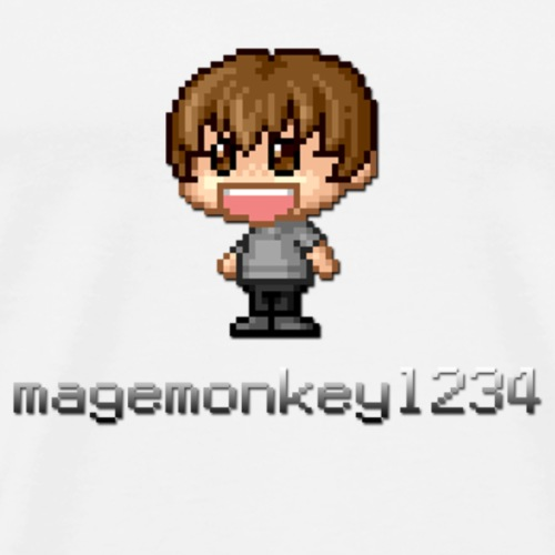 magemonkey1234's Big Logo - Men's Premium T-Shirt