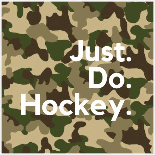 Just.Do.Hockey 2.0 - Mannen Premium T-shirt
