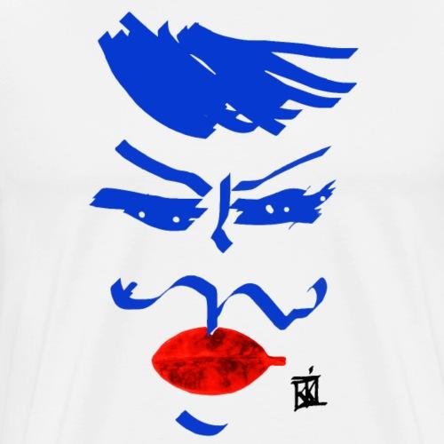 FACCE_DI_MòKIKA_U3 - Maglietta Premium da uomo