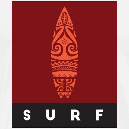 Surfing del Mundo by Te-Moana - Männer Premium T-Shirt