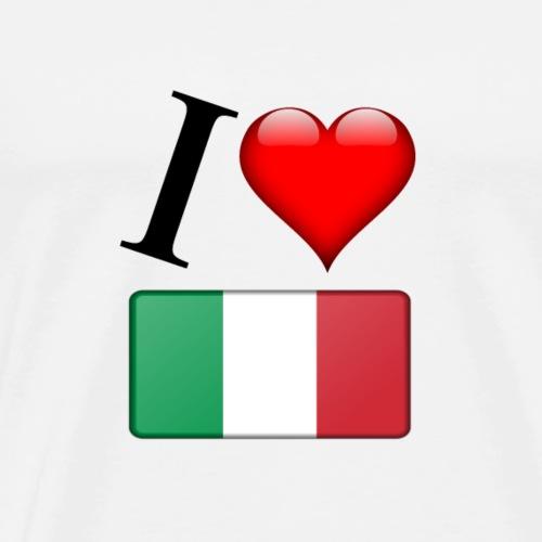 I LOVE ITALIEN - Männer Premium T-Shirt