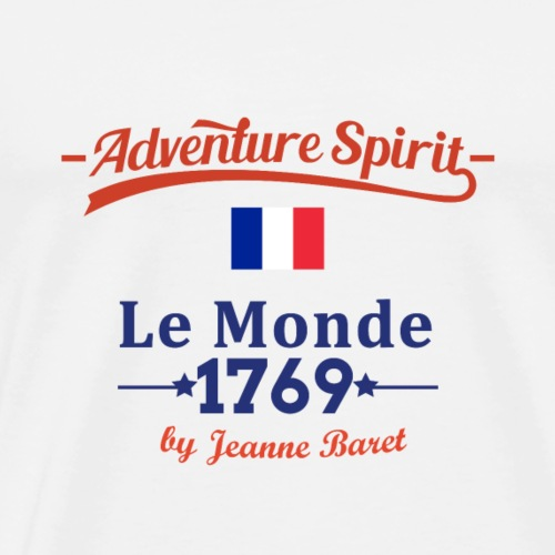 Adventure Spirit France - Männer Premium T-Shirt