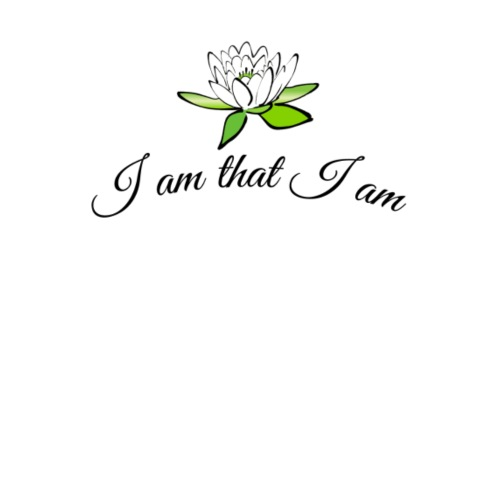 i am that i am & the Lotusflower - Premium-T-shirt herr