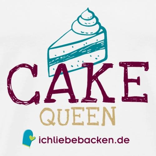 Cake Queen - Männer Premium T-Shirt