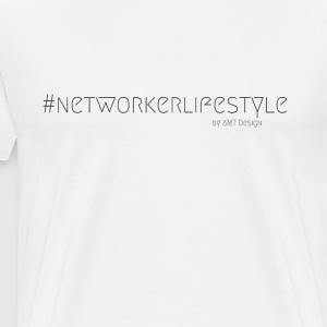 NetWorker LIFESTYLE - Hustle Fashion by Design Office - Premium-T-shirt herr