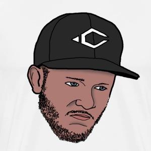 Animated Crizz face - Mannen Premium T-shirt