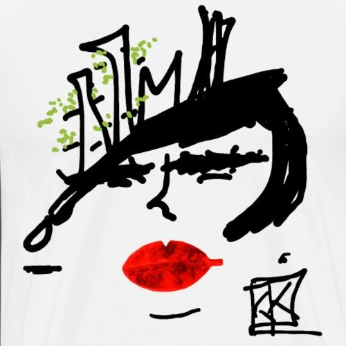 FACCE di MòKIKA boscoverticale 2 - Maglietta Premium da uomo