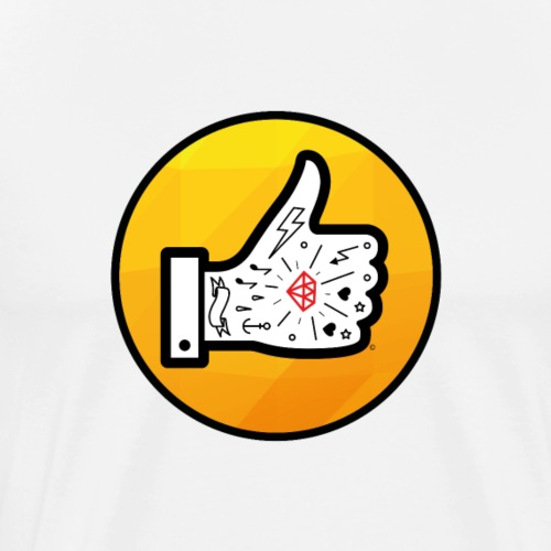 Pouce logo Mon Futur Tattoo - T-shirt Premium Homme
