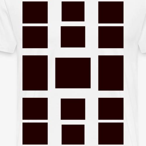 Viereck - Männer Premium T-Shirt