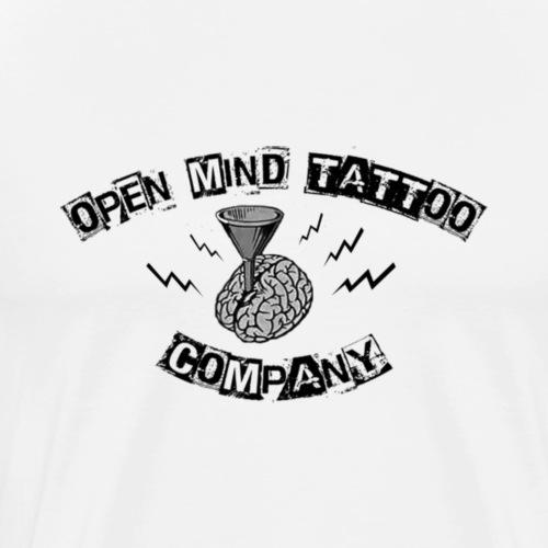 Open Mind Schwarz - Männer Premium T-Shirt