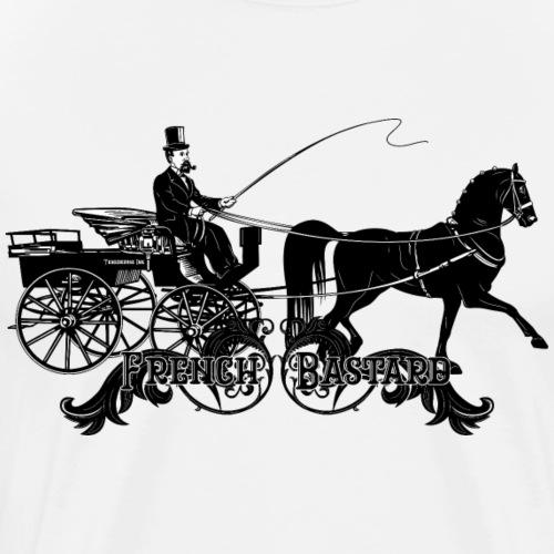 Ténébreuse Ink - Bastard Full black - T-shirt Premium Homme