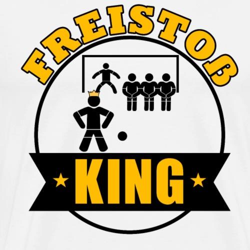 T-Shirt für wahre Freistoß Kings - Männer Premium T-Shirt