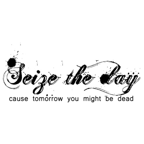 Seize the Day tee - Buffy - Men's Premium T-Shirt