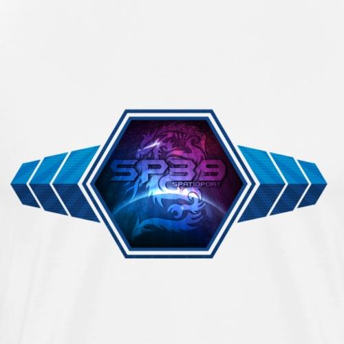 Logo spatioport39 wing - T-shirt Premium Homme