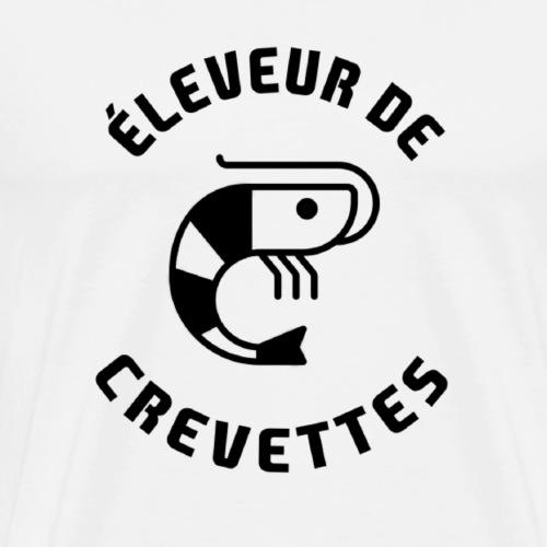 ÉLEVEUR DE CREVETTES CBS - Nouvelle version - T-shirt Premium Homme