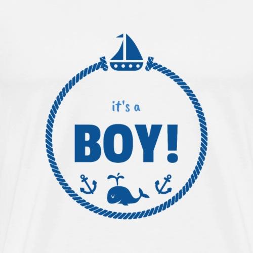 Es ist ein Junge Shirt Tees - Männer Premium T-Shirt