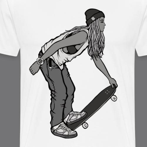 SKATEBOARDING Tee Shirt - T-shirt Premium Homme